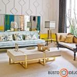 Eklektikai būdingi ornamentai - įspūdingas sienų dekoras