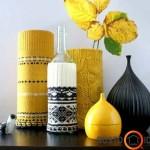 Apmegztos vazelės, buteliai suteikia išskirtinumo ir žiemiško žavesio