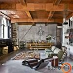 Išraiškingas eklektiškas kambarys