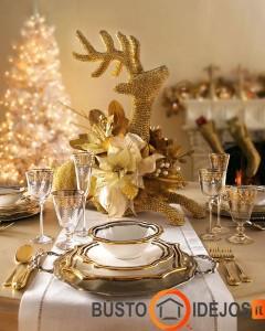 Be galo įspūdingos auksinės šv. Kalėdos