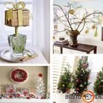 Namų puošimo Kalėdinėmis dekoracijomis idėjos