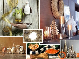 Kalėdinių dekoracijų pavyzdžiai
