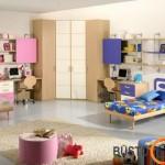 Mergaitės ir berniuko kambarys pagal feng shui