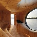 Grožio-spa-fitneso kategorijoje laimėjo Partisan Projects su projektu Grotto Sauna Project