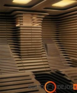 Patogiai įrengti mediniai gultai