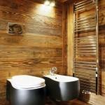 Kaimiško stiliaus tualetas