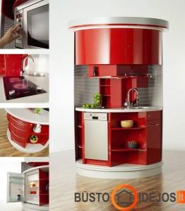 Mini virtuvės sprendimas