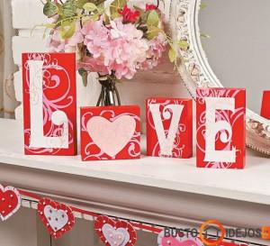 Romantiškas dekoras